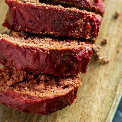 Moist Sous Vide Meatloaf