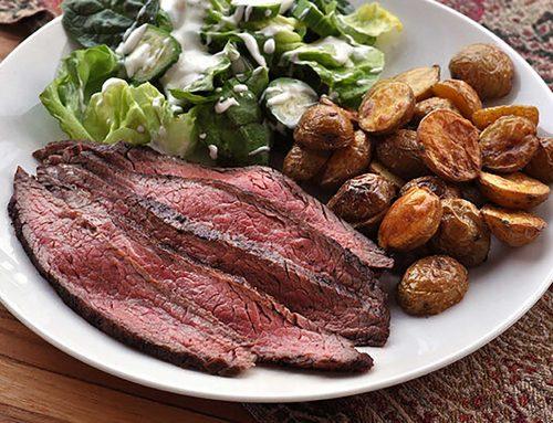 Sous Vide Beef Flank Steak
