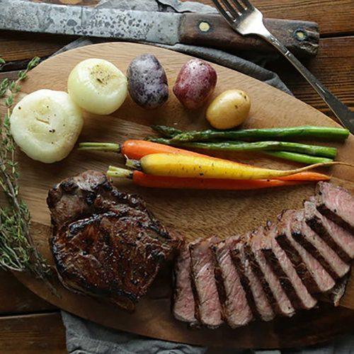Sous Vide Steak & Potatoes