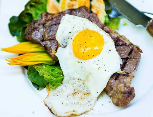 Sous Vide Steak and Eggs